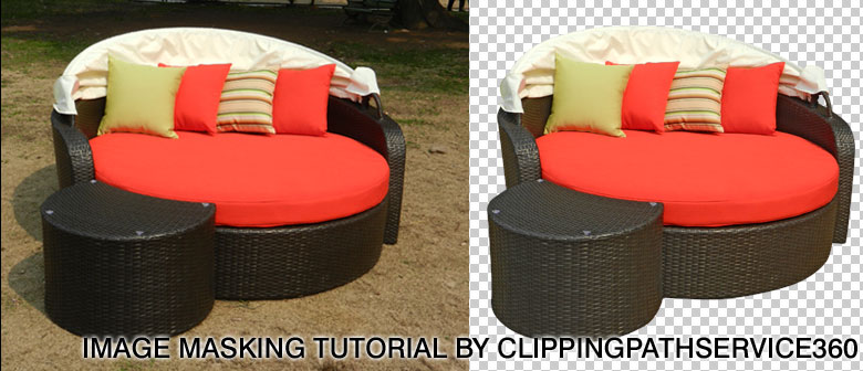 Image Masking Examples on Furniture Product